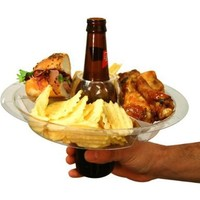 The Go Plate Reusable Food & Beverage Holder: 21 Plates:Amazon:Kitchen & Dining