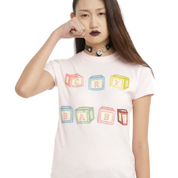 Melanie Martinez Cry Baby Blocks Girls T-Shirt