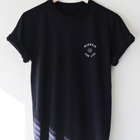 Mermaid For Life Tee - Black