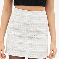 Zigzag Patterned Skirt
