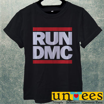 Low Price Men's Adult T-Shirt - Run DMC Logo design