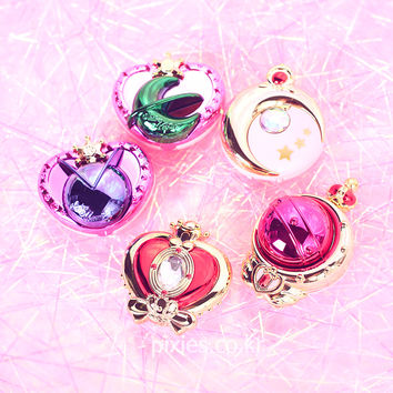 Sailor Moon Compact Mirror Stick And Rod Arrange