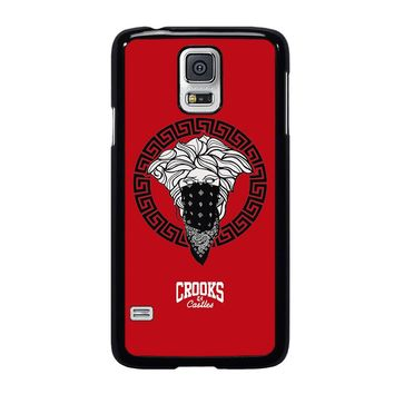 CROOK AND CASTLES BANDANA RED Samsung Galaxy S5 Case