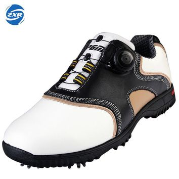PGM Authentic Golf Shoes for men and women Sports Sneakers Game Design Antiskid Shoes Breathable Soft 2017