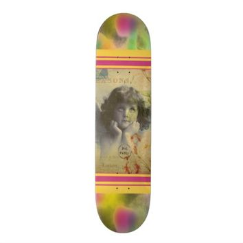 French Postcard Skateboard
