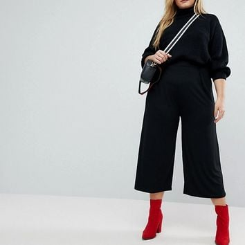 Pink Clove Culottes In Stretch Jersey at asos.com