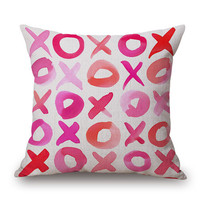 Lovers Paradise 18 x 18 Throw Pillow Cover
