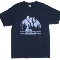 Law And Order SVU T-shirt: Adult XL - Navy Blue