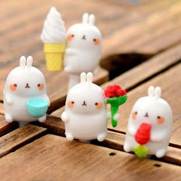 35%OFF Lovely Red Rose Ice Cream Potato Rabbit Dust Plug 3.5mm Cell Phone Plug iPhone 4 4S 5 5S Plug Samsung Charm Headphone Jack Ear Cap