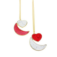 Jewelry Shiny Stylish Gift New Arrival Accessory Fashion Turquoise Set Pendant Sweater Chain Necklace [4956883588]