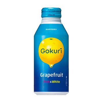 Suntory Grapefruit Gokuri Soft Drink , 14 fl oz (400 g)