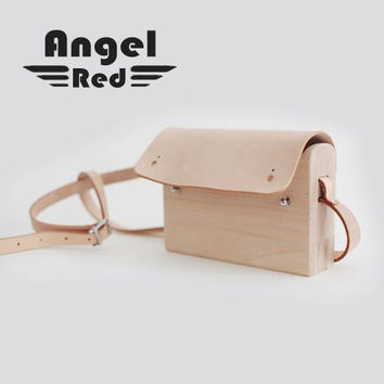 Women Messenger Bags Minimalist Wood engraving Genuine Versatile Leather Brown Designer Bag Elegant Genuine Leather Woman Bags