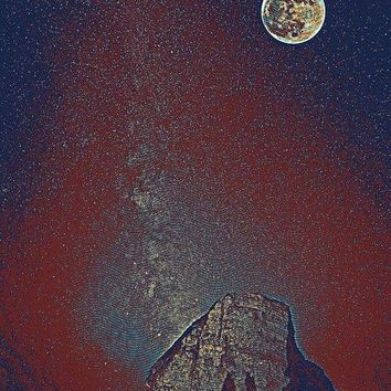 To The Moon And Back By Adam Asar 4 - Art Print