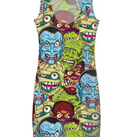 Movie Monsters on Dress