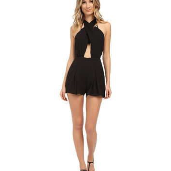 6 Shore Road by Pooja Chiva Romper Cover-Up Black Rock - Zappos.com Free Shipping BOTH Ways