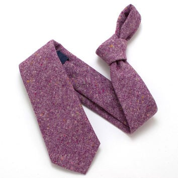1960s Mulberry Donegal Necktie