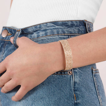 Parisian Rhinestone Bangle