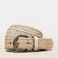 AEO Women's Metallic Cross Stitc