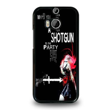 THE PRETTY RECKLESS QUOTES  HTC One M8 Case Cover