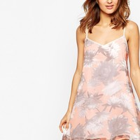 French Connection Lilly Collage Strappy Sun Dress
