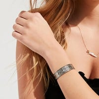 Western Etched Cuff Bracelet | Urban Outfitters