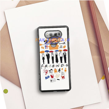 FRIENDS Collage Drawing LG V20 Case Planetscase.com
