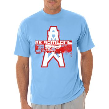 """Houston's Throwback Football """"Be Someone"""" Edition"""