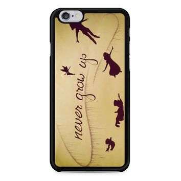 Peter Pan Never Grow Up iPhone 6/6s Case