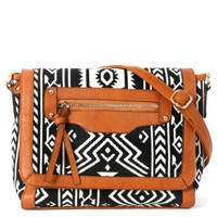 Tribal Shoulder Bag | MakeMeChic.com
