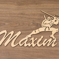 Custom Wood Signs, Wooden Names For Your Pleasure. by WoodWordsPark