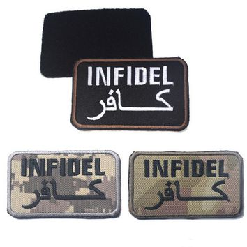 """Infidel"" Tactical Velcro Patch 