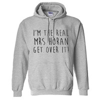 The Real Mrs Horan One Direction funny hoodie for unisex