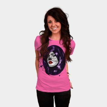 Clown Girl T Shirt By NGDesign Design By Humans