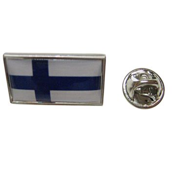 Finland Flag Lapel Pin