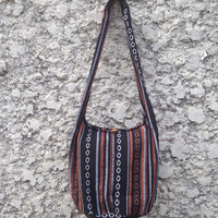 Cross body Shoulder Tribal Boho Bags Sling Hippies Ikat Aztec handbags Fashion Hobo Yam Diaper Tote Aztec Crossbody Messager Labtop School