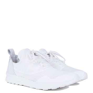 Adidas ZX Flux Sneaker in White Black