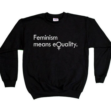 Feminism Means Equality -- Youth Sweatshirt