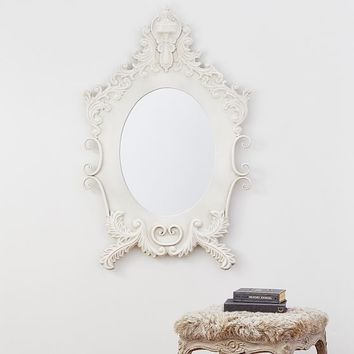 The Emily & Meritt Antiqued Ornate Mirror