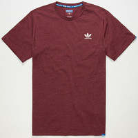 Adidas Adv Mens T-Shirt Cardinal  In Sizes