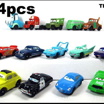 14pcs/set  The best gift toy boy birthday holiday gifts for the children of the toy car