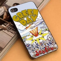 Dookie Album Animation Green Day - iPhone 4/4s,5,5s,5c and Samsung S2,S3,S4 - Plastic Rubber