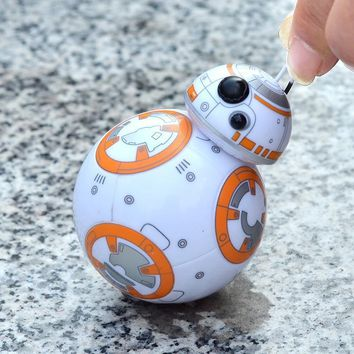 Star Wars Force Episode 1 2 3 4 5 2017  The Last Jedi BB8 BB-8 R2D2 Droid Robot tumbler Action Figure Stormtrooper Clone Toy Gifts AT_72_6