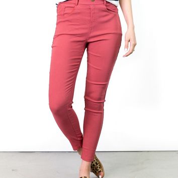 Abigail Colorful Jeggings