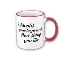 Funny quotes gifts for women joke humor coffeecups mug from Zazzle.com