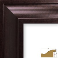 Craig Frames 76036 24 by 30-Inch Picture Frame, Smooth Wood Grain Finish, 2-Inch Wide, Brazilian Walnut Brown