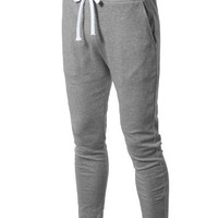 H2H Mens Fashion Lightweight Sweatpants with Various Colors GRAY US 32/Asia L (JJSK07)