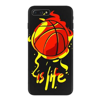 life is basketball iPhone 7 Plus Case