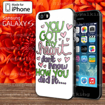 Ariana Grande Lyric Cover Case for Your iphone 4/4S/5/5S/5C and Samsung Galaxy S3/S4/S5