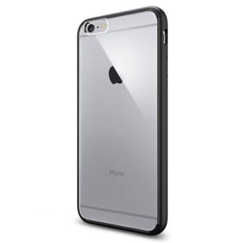 Spigen Ultra Hybrid iPhone 6 Plus Case with Air Cushion Technology and Hybrid Drop Protection for iPhone 6 Plus - Black