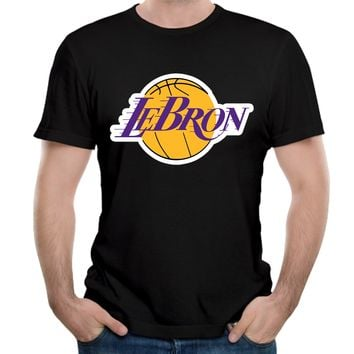 Lebron James/Lakers 3D Print T-Shirt (With Plus Sizes)